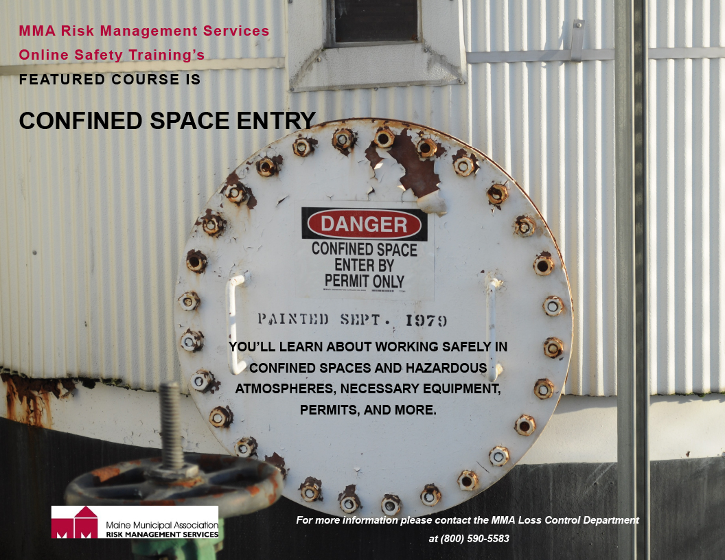 CONFINED SPACE ENTRY - MMA