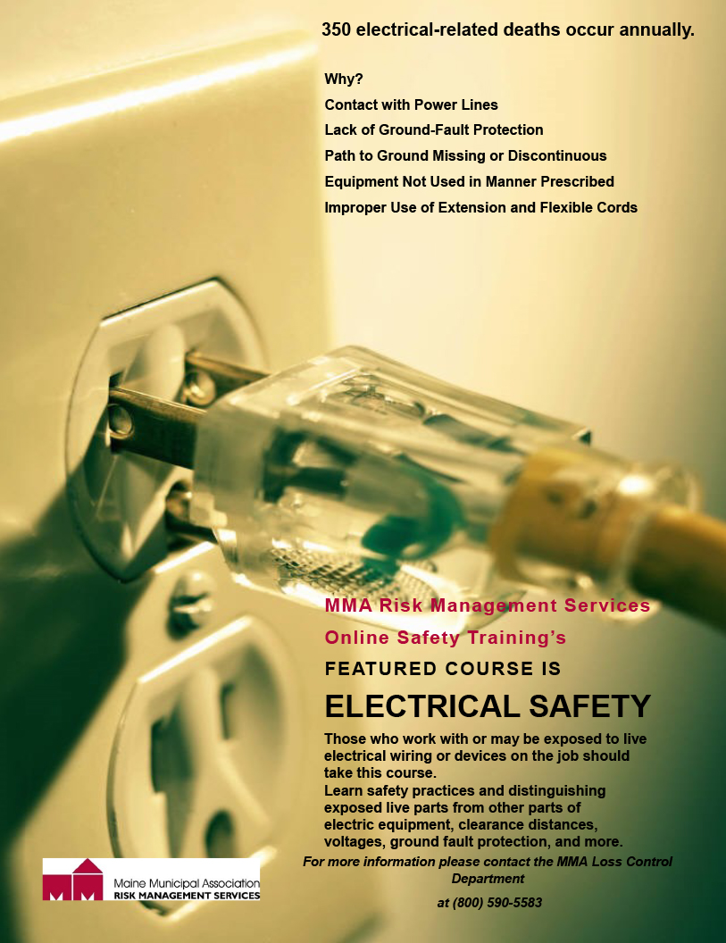 ELECTRICAL SAFETY - MMA